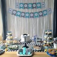 Little Man First Birthday Party Design Blog