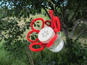Little Susie Home Maker Homemade Hummingbird Feeder Recipe