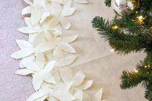 Livelovediy Make Sew Christmas Tree Skirt