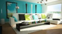 Living Room Apartment Modern Home Interior Design Small