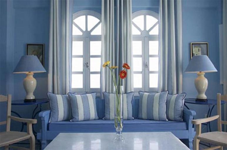 Living Room Blue Ideas Fantastic Theme