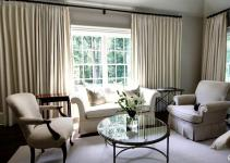 Living Room Curtain Decorating Ideas