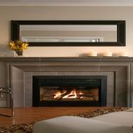Living Room Design Fireplace Modern