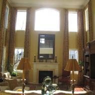 Living Room High Ceilings Modern Contemporary Home