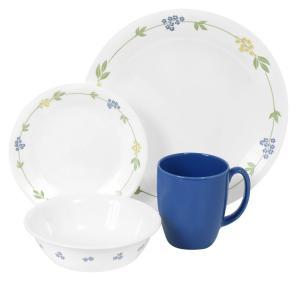 Livingware Secret Garden Dinnerware Set Corelle
