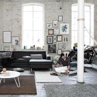 Loft Living Room Design Ideas Interior