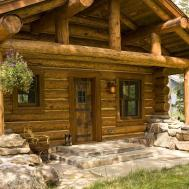 Lost Creek Cabin Teton Heritage Builders