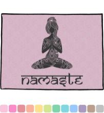 Lotus Pose Doormat X36 Personalized Youcustomizeit