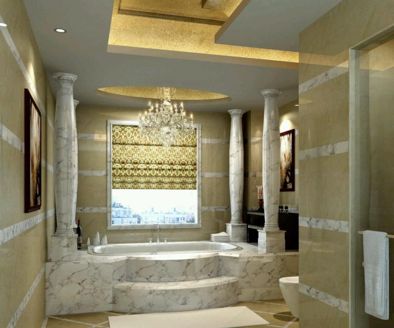 Luxury Bathrooms 2017 Grasscloth