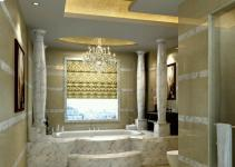 Luxury Bathrooms 2017 Grasscloth
