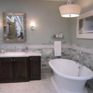 Luxury Color Paint Goes Grey Tile Kezcreative