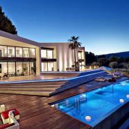 Luxury Mediterranean Origami Villa Located Son Vida