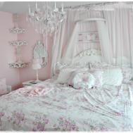 Luxury Pink Shabby Bedrooms Design Chic Bedroom