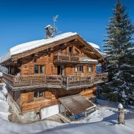 Luxury Ski Chalet Sommet Courchevel 1850 France