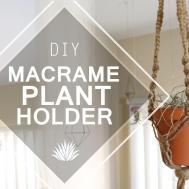 Macrame Plant Holder Diy Doovi