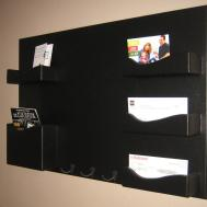 Mail Organizer Coat Rack Holder Letter