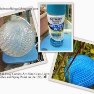 Make Best Things Diy Garden Art Super Easy Glass