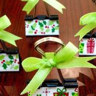 Make Binder Clip Place Card Holders Diy Crafts
