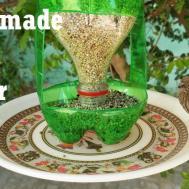 Make Bird Feeder Diy Homemade Plastic Bottle