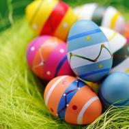 Make Colorful Beautiful Easter Eggs