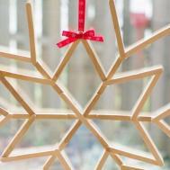 Make Cool Craft Stick Snowflake Diy Crafts