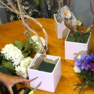 Make Decorate Manzanita Branch Centerpieces