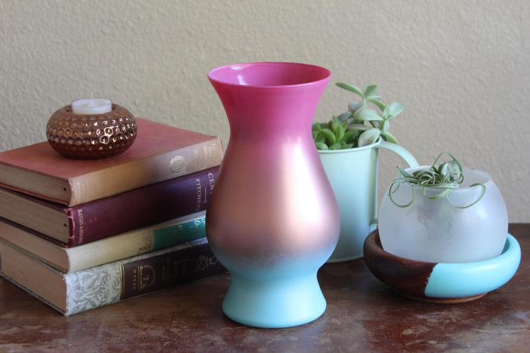 Make Diy Ombre Vase Fair Olinda