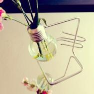 Make Flower Vase Bulb Crafts Diy