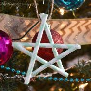 Make Glittery Cinnamon Stick Star Oranaments Diy Mommy