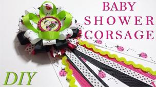 Make Hair Bows Diy 119 Baby Shower Corsage