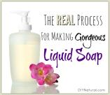 Make Liquid Soap Natural Amazing