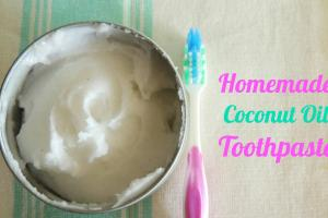 Make Natural Homemade Healthy Toothpaste Care