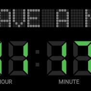 Make Original Digital Clock Maker Android