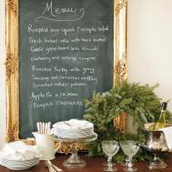 Make Ornate Framed Chalkboard