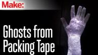 Make Packing Tape Ghosts