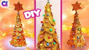 Make Paper Christmas Tree Diy