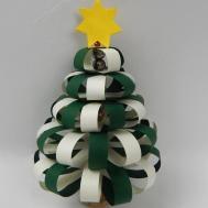 Make Paperball Christmas Tree Decoration Hanging