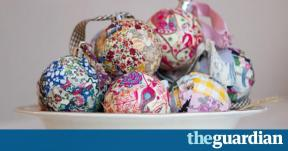 Make Patchwork Baubles Life Style Guardian
