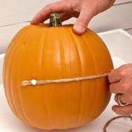 Make Pumpkin Candy Dish