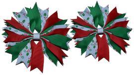 Make Ribbon Spike Pinwheel Hair Bow Tutorial