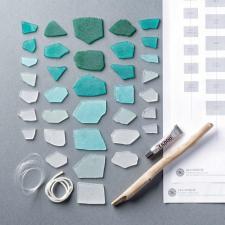 Make Sea Glass Wind Chime Craft Kit Crafty