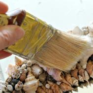 Make Seashell Mirror