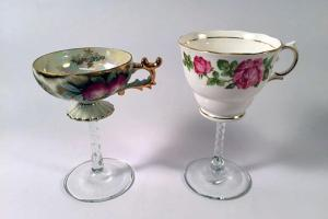 Make Tea Cup Wine Glasses Diy Network Blog Made