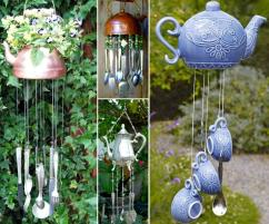 Make Teapot Wind Chime Easily Whoot