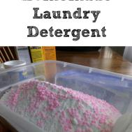 Make Your Own Homemade Laundry Detergent Moms