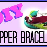 Make Zipper Bracelet Cheap Easy Crafts