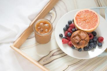 Makers Diy Marbled Resin Breakfast Tray