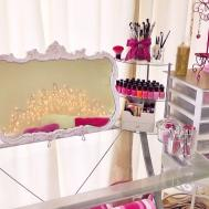 Makeup Collection Storage Pink Foxy