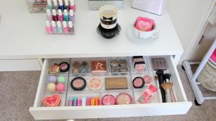 Makeup Vanity Storage Ideas Pixshark