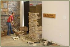 Manufactured Stone Veneer Maintenance Installation